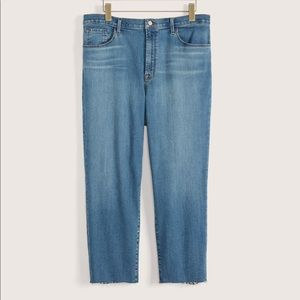J Brand Ruby high waisted cropped jeans 38PLUS